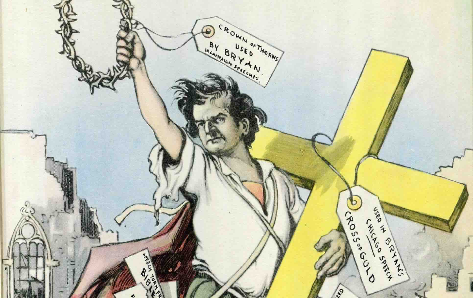 cross of gold speech Cultural impact farmers developed organizations such as the grange and farmers' alliances that directed their support towards the free silver movement.